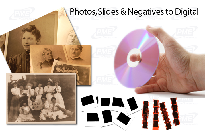 photo, slides & negative to digital