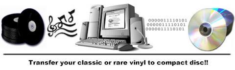 vinyl records to cd